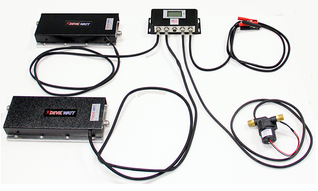 100W Thermoelectric System with Water Cooling by TEGpro